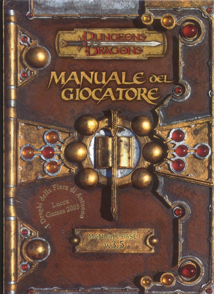 copertina manuale giocatore di D&D, creiamo un personaggio guida pratica