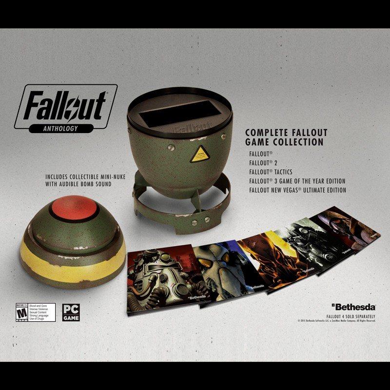 Fallout Anthology: la raccolta di tutti i giochi della serie!