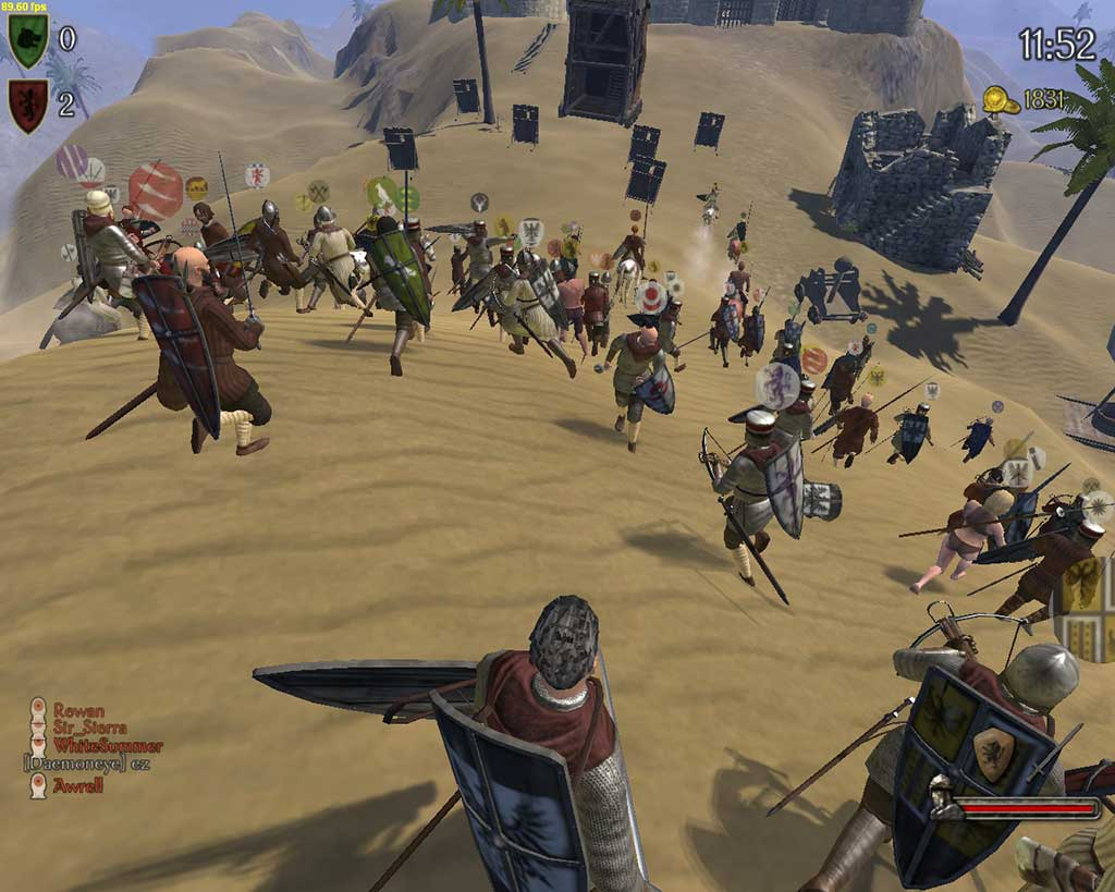 mount&blade warband screen gameplay