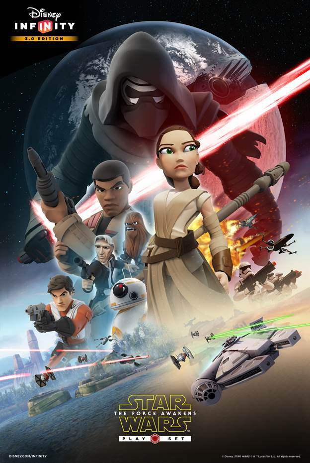 Disney Infinity – The Force Awakens Poster