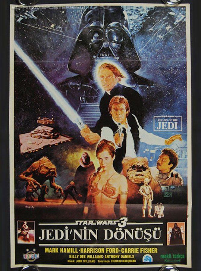 Il ritorno dello Jedi -Turchia,-1983