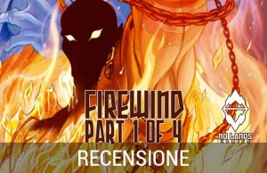ACROSS THE NO LANDS: FIREWIND fumetto a colori no lands comics