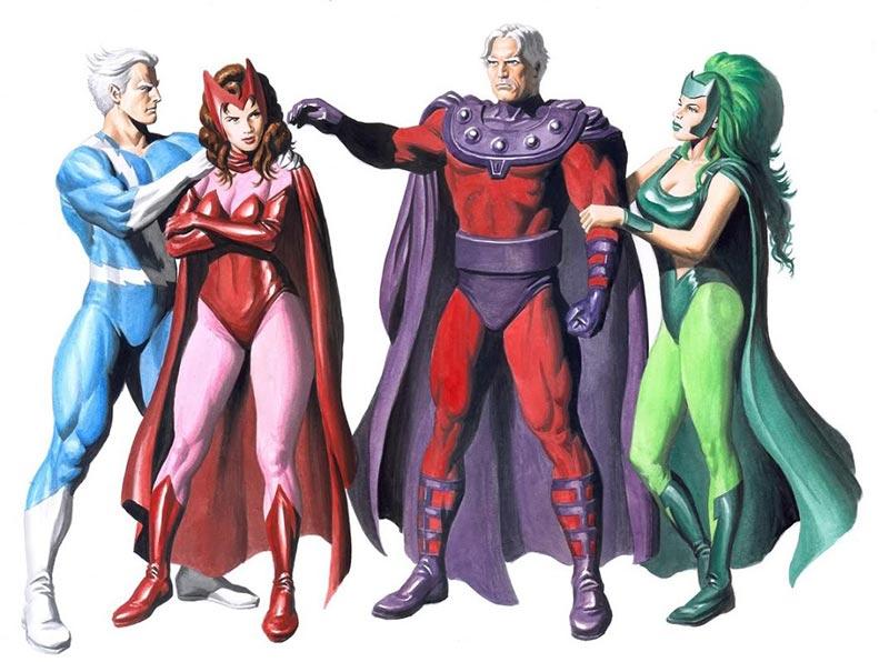 padri e figli supereroi