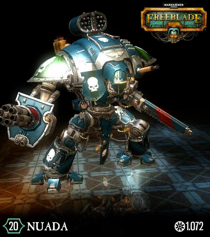 Warhammer 40.000 fireblade