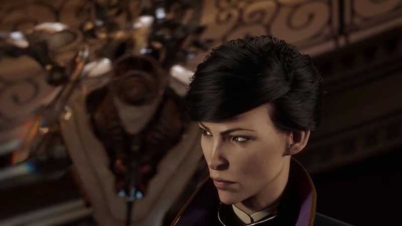 dishonored 2 gameplay screen