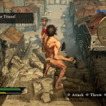 Attack On Titan – Wings of Freedom videogioco screen