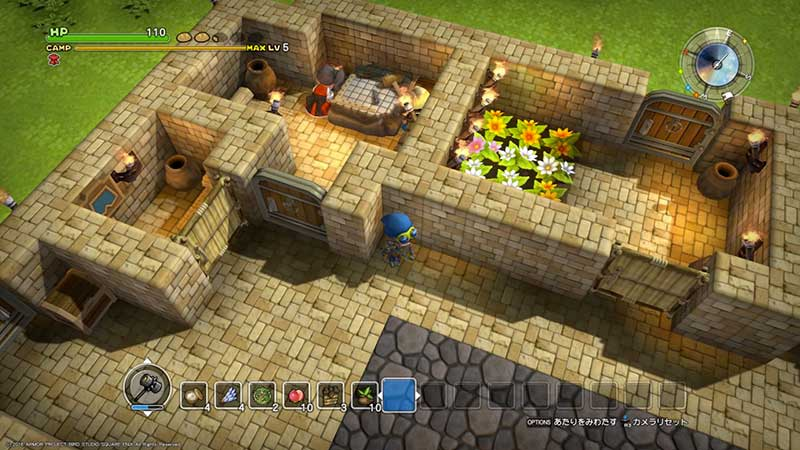 dragon quest builders screen gameplay