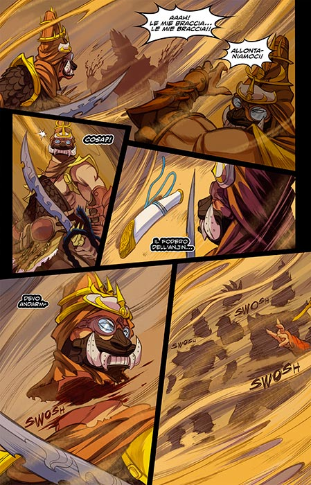 firewind no lands comics tavole