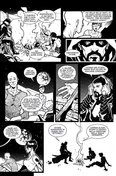 arcana mater manfont fumetti