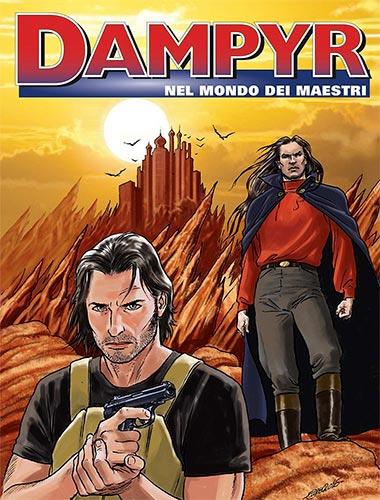 dampyr nel mondo dei maestri copertina