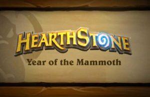 hearthstone anno del mammoth