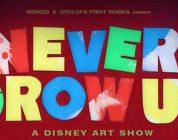 Mondo presenta Never Grow Up: A Disney Art Show