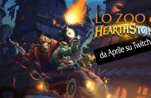 Hearthstone: Arriva Lo Zoo! Una nuova trasmissione su Twitch