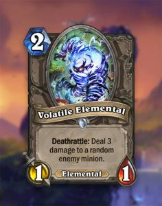 elementale volatile hearthstone