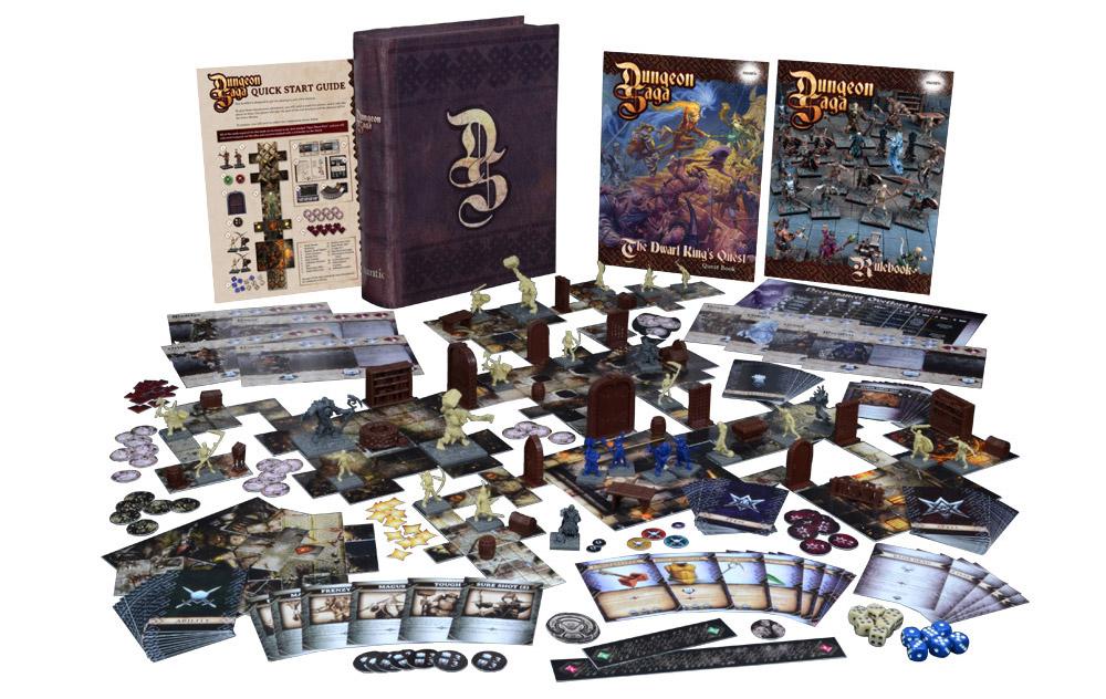dungeon saga la missione del re dei nani