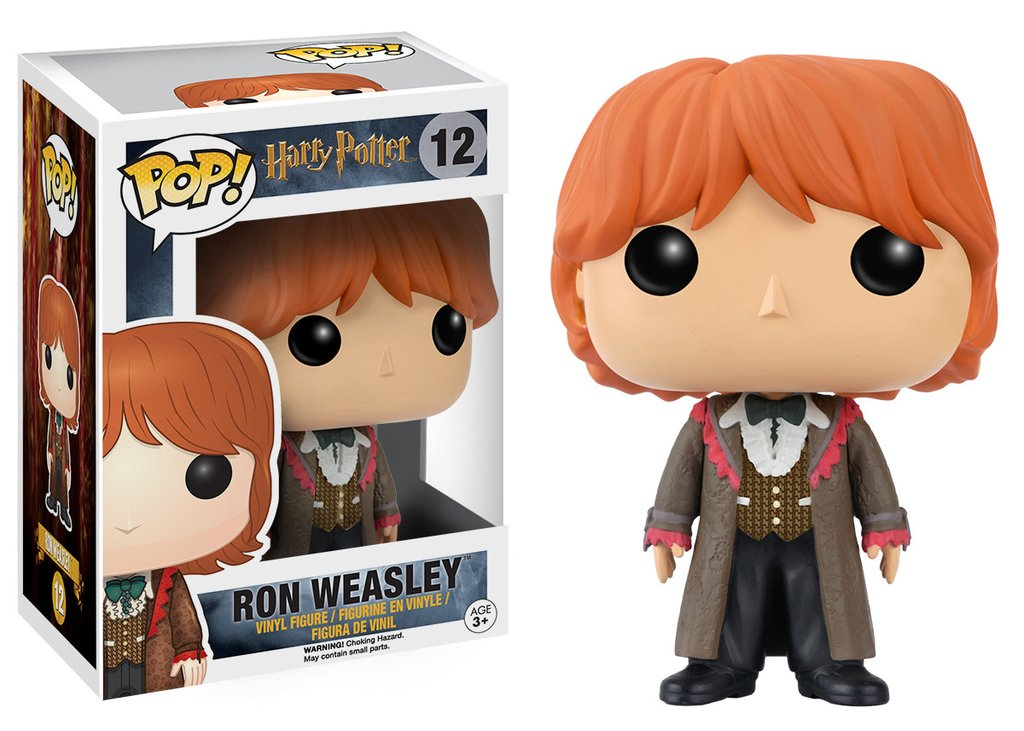 5 Funko Pop di Harry Potter: Ron Weasley Yule Ball, N.12