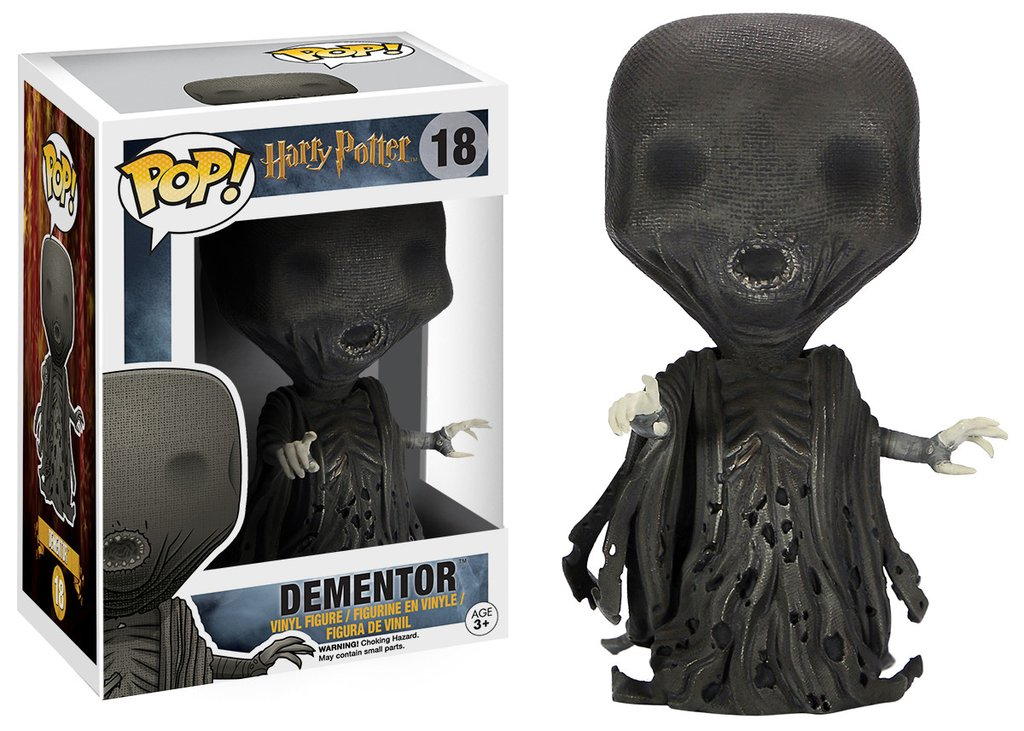 2 Funko Pop di Harry Potter: Dementor, N.18