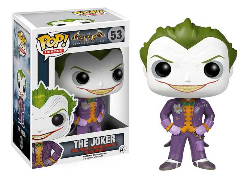 joker arkham asylum funko pop