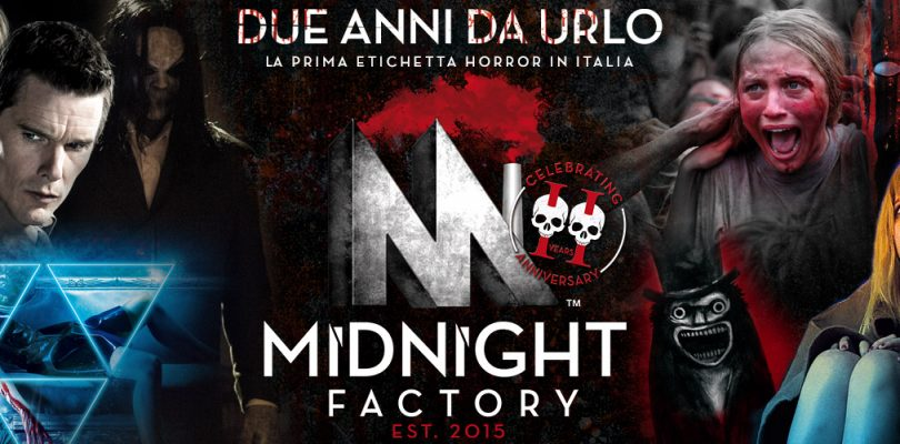 Buon compleanno Midnight Factory!