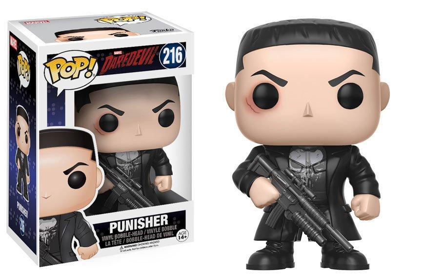 funko pop serie tv daredevil: the punisher