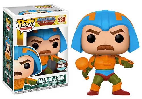 man at arms masters of the universe funko pop