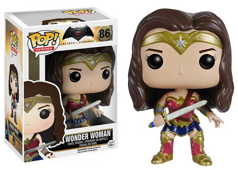 wonder woman funko pop DC universe