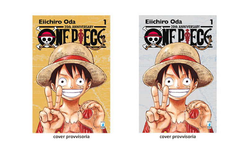 One Piece gold e silver