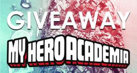 copertina giveaway My Hero Academia