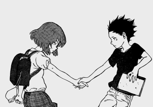 Risultati immagini per a silent voice manga