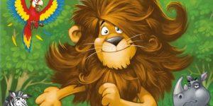 leo va dal barbiere: gioco da tavola della DV giochi per i più piccoli - cover