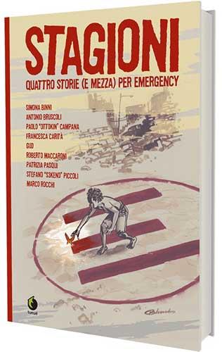 stagioni fumetto di tunuè per emergency copertina