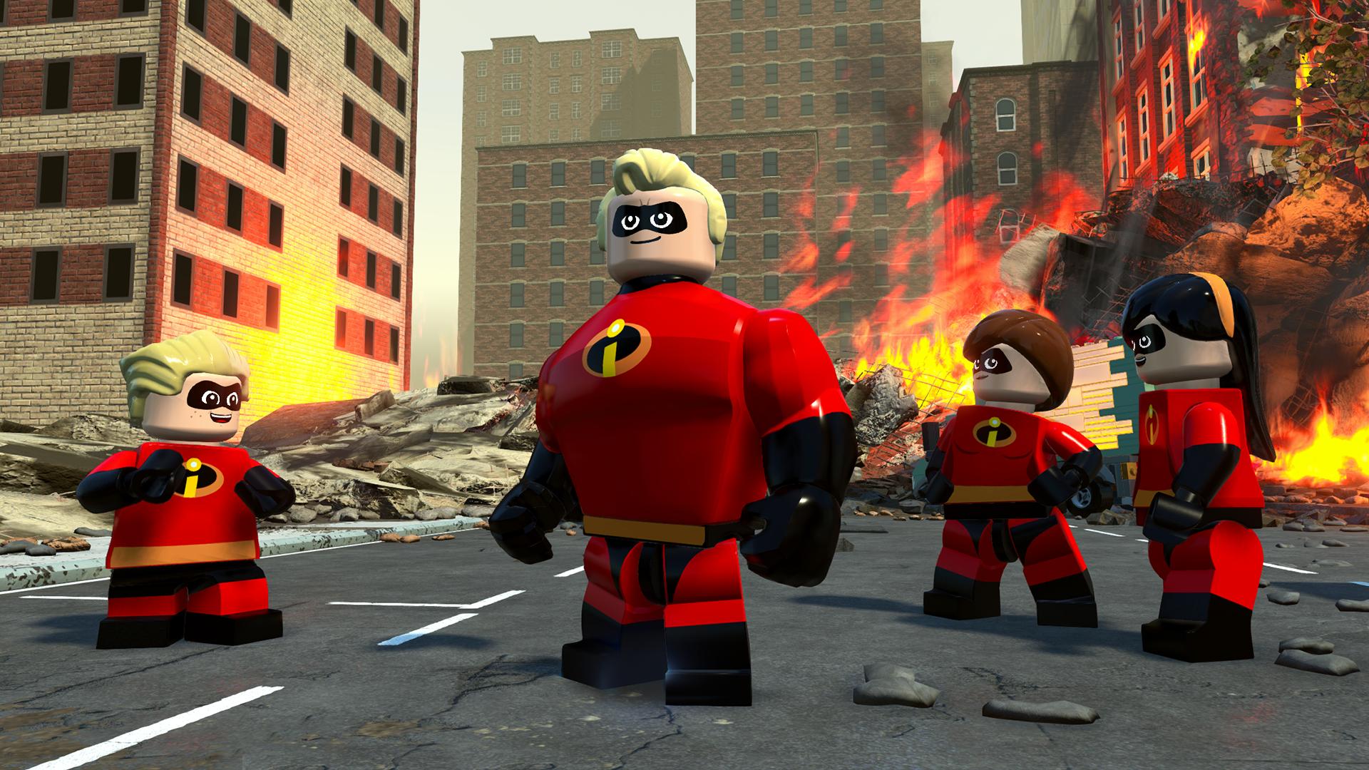 Arriva la data ufficiale sull'uscita di Lego Gli Incredibili