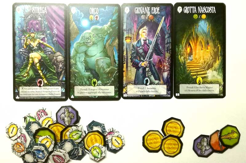 dark tales card game DV Giochi
