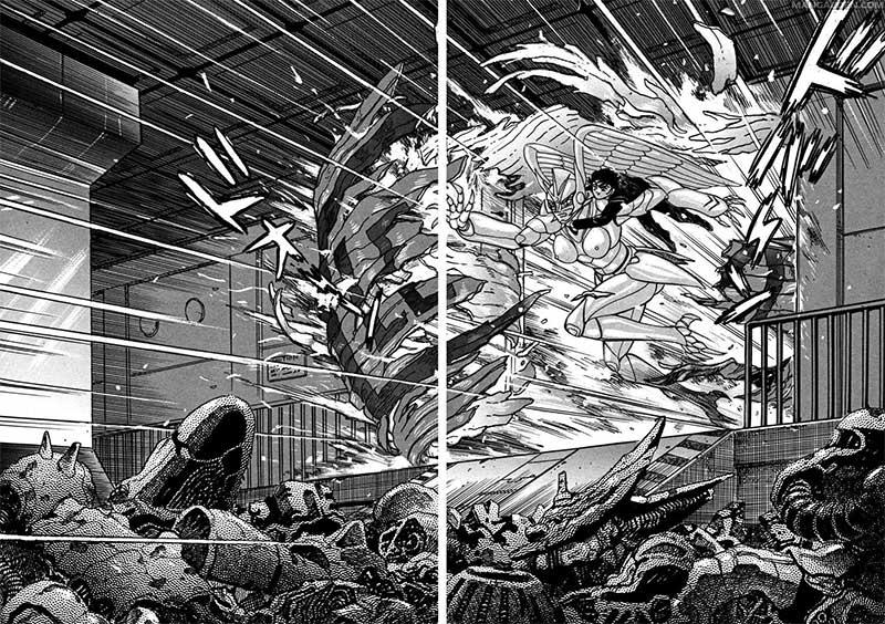 devilman saga tavola manga
