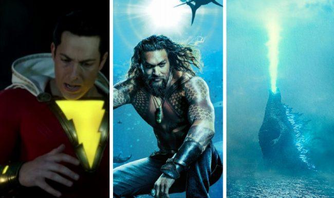 Comic Con 2018: ecco i trailer di Aquaman, Shazam! e Godzill