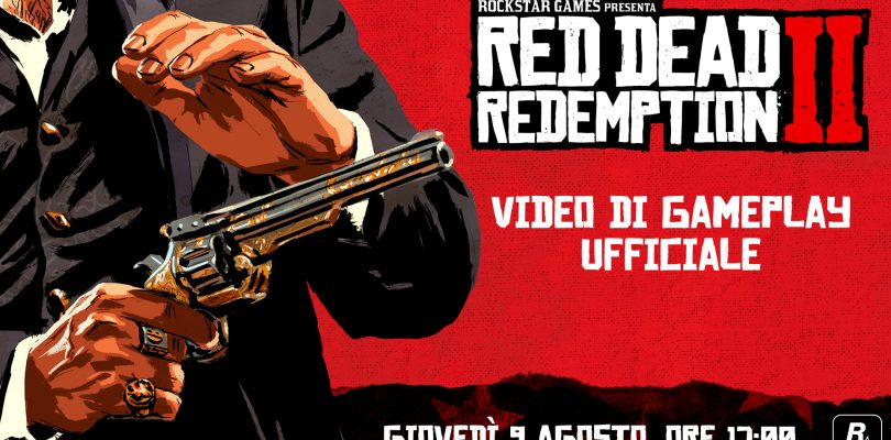 Red Dead Redemption 2: il video di gameplay in uscita il 9 agosto