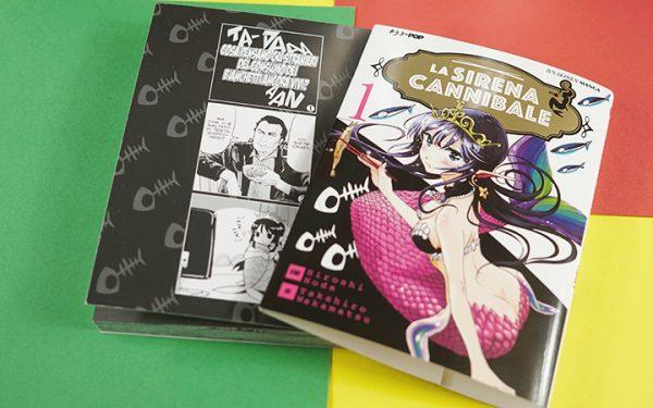 La Sirena Cannibale Manga