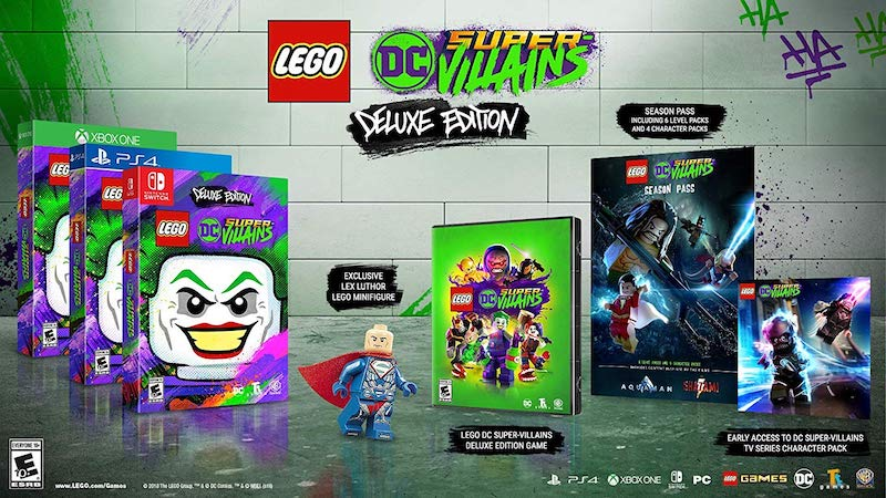 5 LEGO DC Super-Villains
