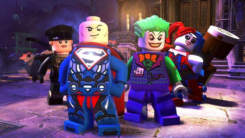 3 LEGO DC Super-Villains