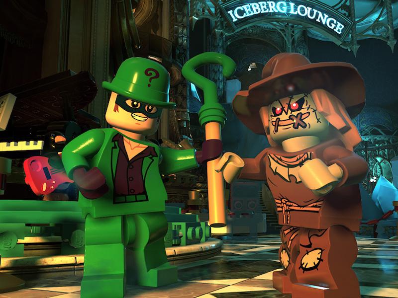 2 LEGO DC Super-Villains