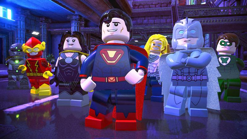 4 LEGO DC Super-Villains