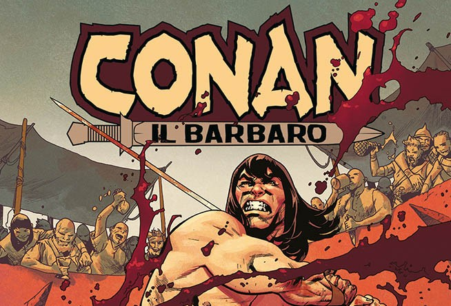 Panini Comics presenta il ritorno in casa Marvel del celebre Conan il Barbaro.