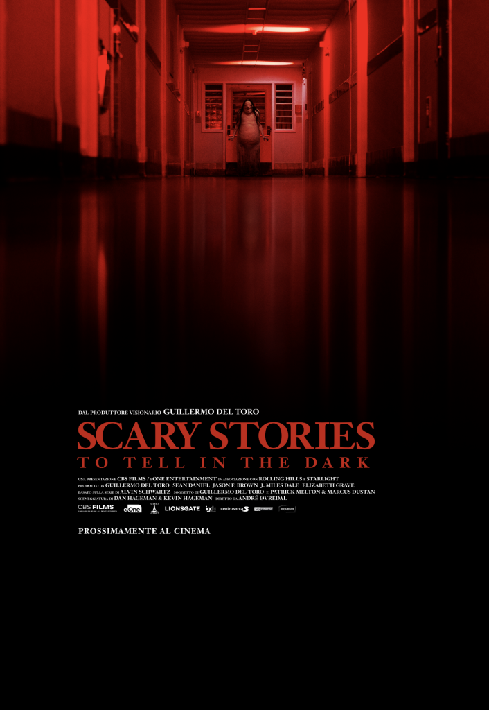 Primo teaser poster di Scary Stories to tell in the Dark