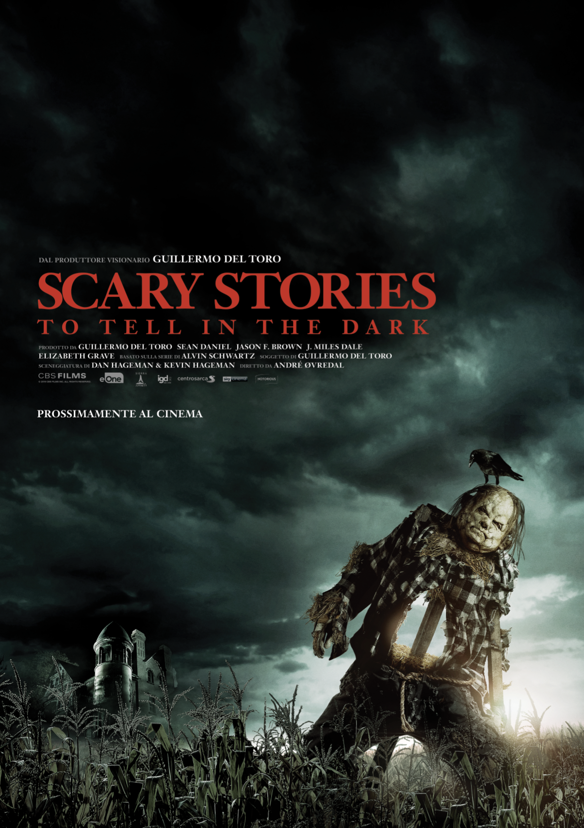 Terzo teaser poster di Scary Stories to tell in the Dark