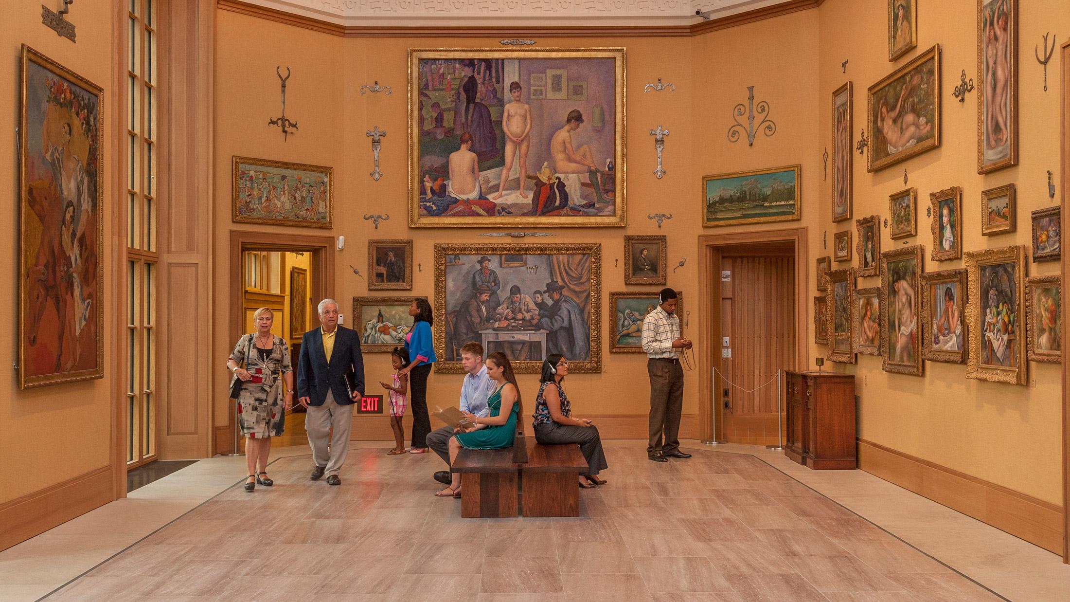 Disponibile online la collezione degli Impressionisti della Barnes Foundation