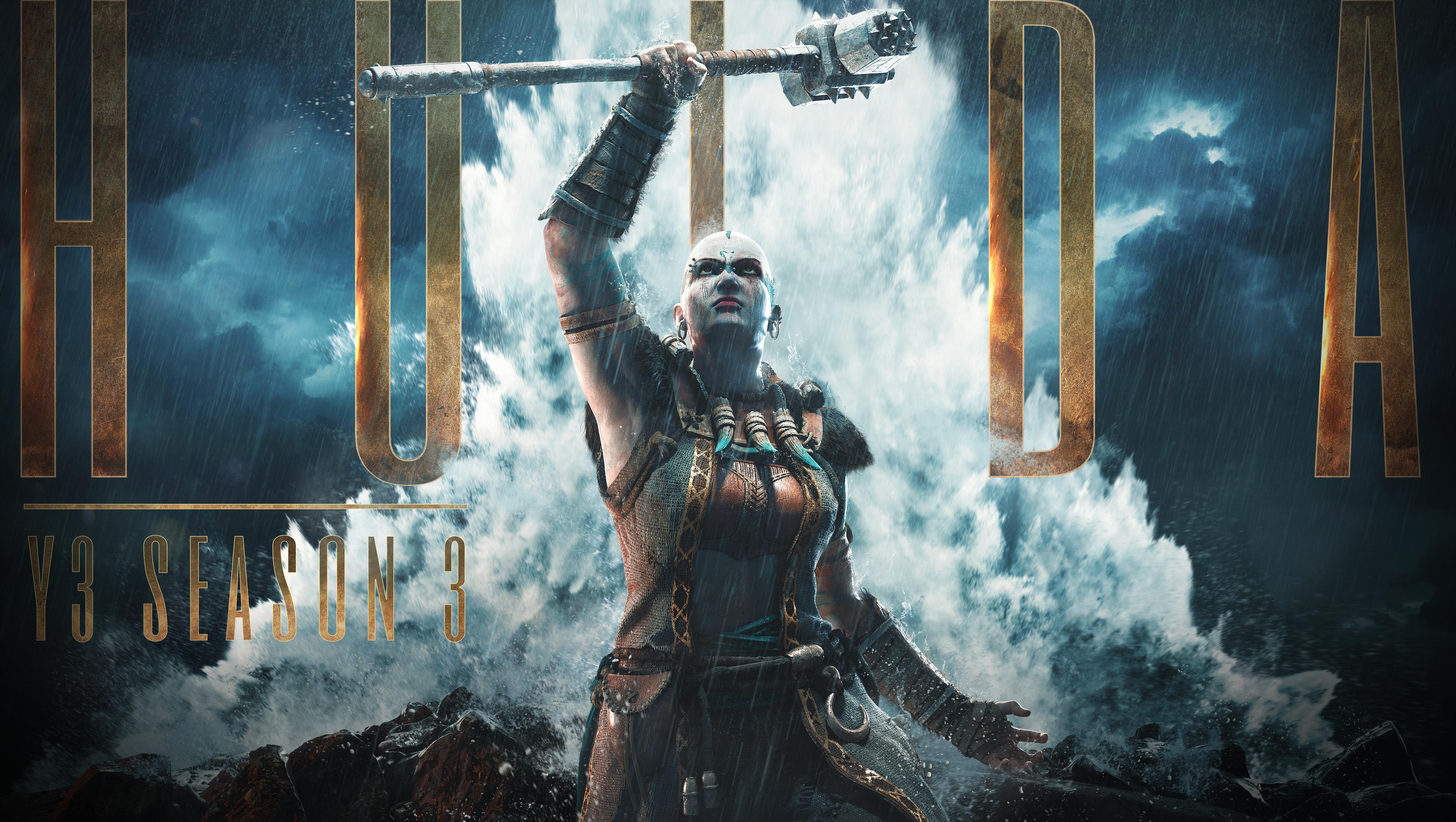 For Honor, in arrivo la Stagione 3 dell'Anno 3: Hulda