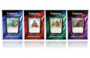 commander deck magic the gathering 2019