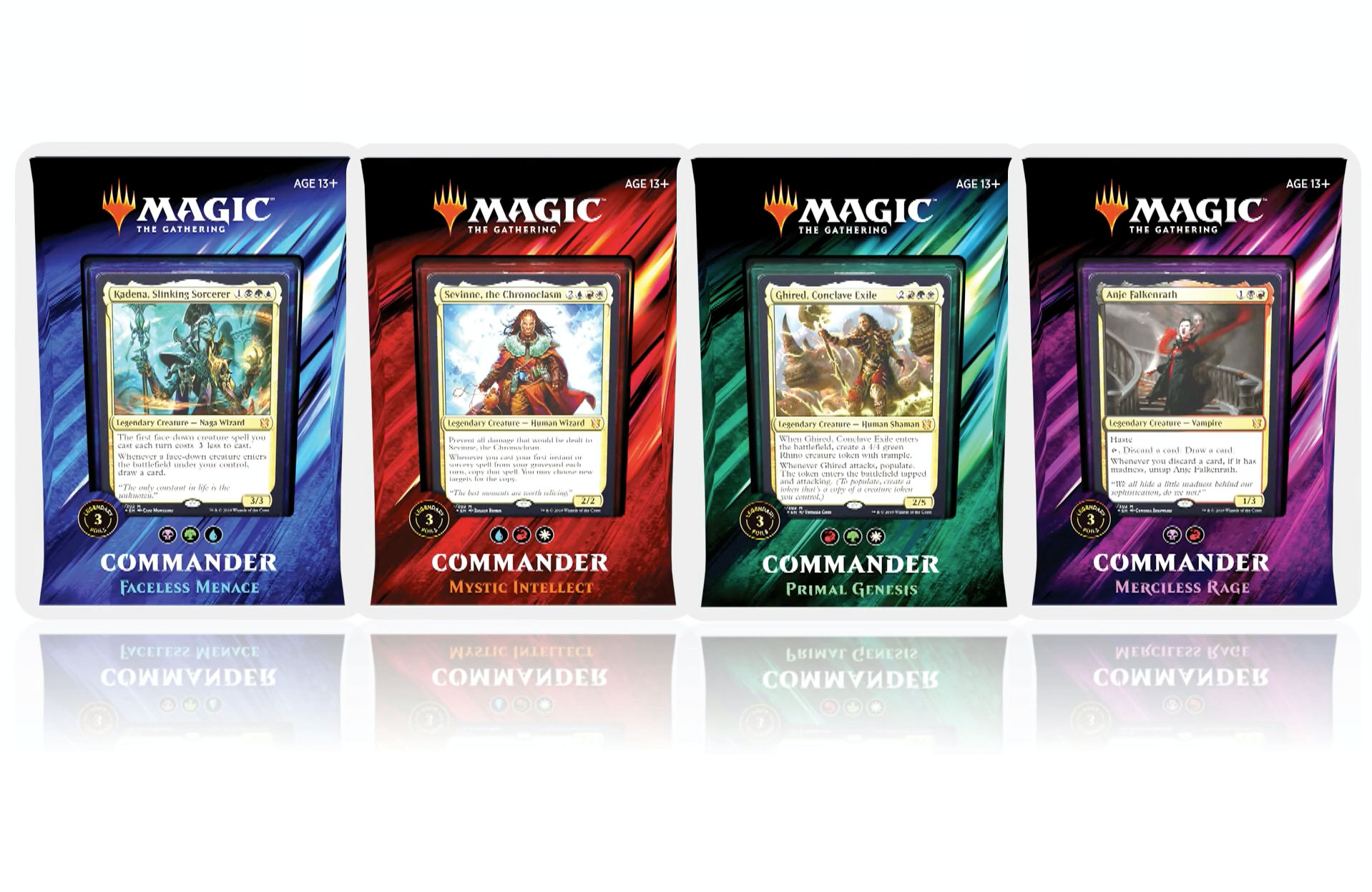 Magic The Gathering – Commander Decks 2019