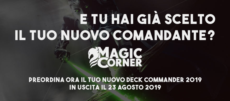 magic commander 2019