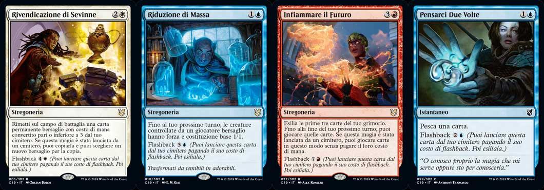 intelletto mistico deck commander magic 2019